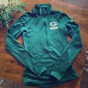 Women's dri-fit Nike Green Bay Packers sweatshirt